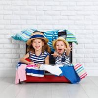Правильные дорожные чемоданы и сумки для детей