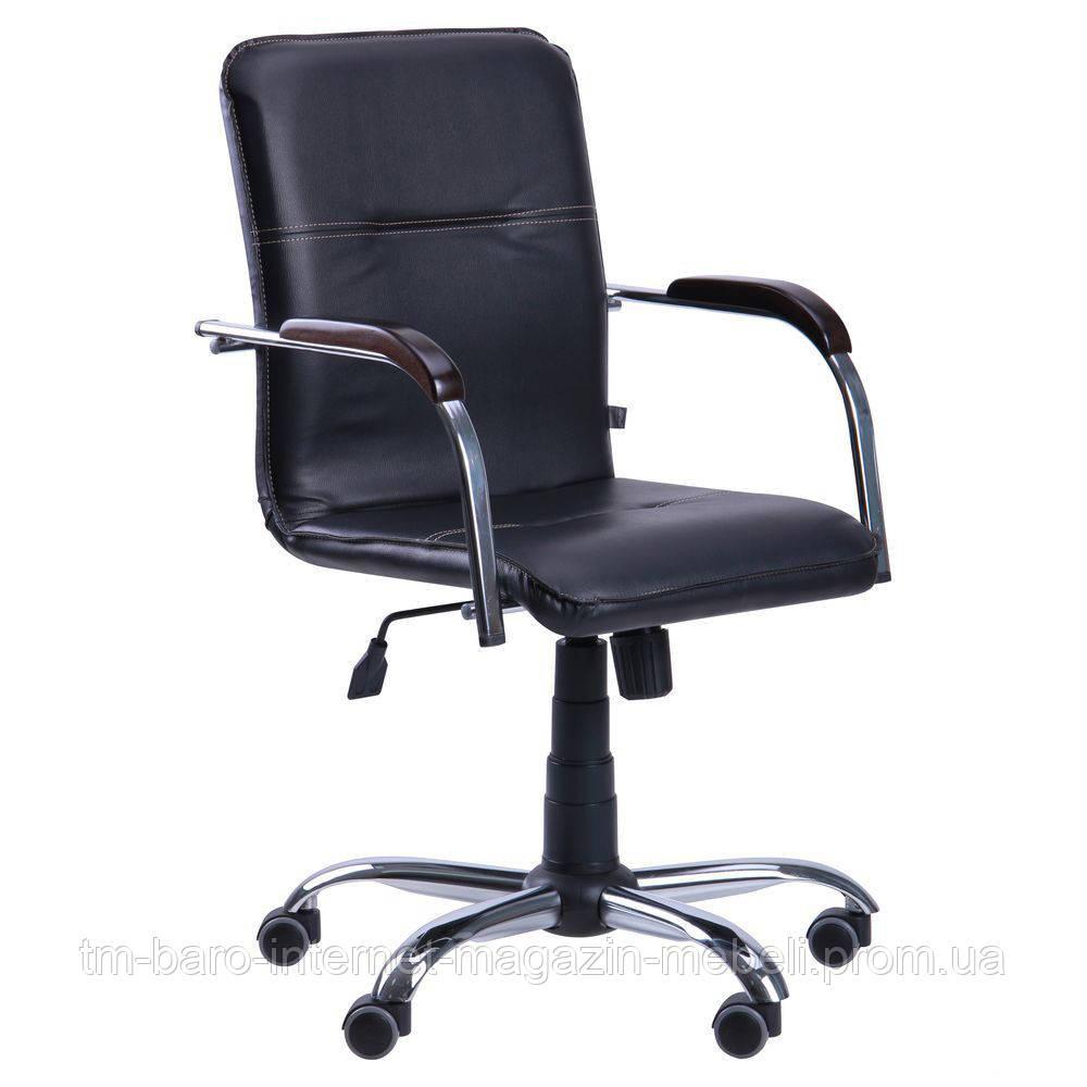 Кресло Самба-RC Хром орех Неаполь N-20 без канта