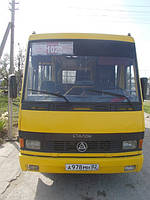 Реклама в автобусе Симферополь