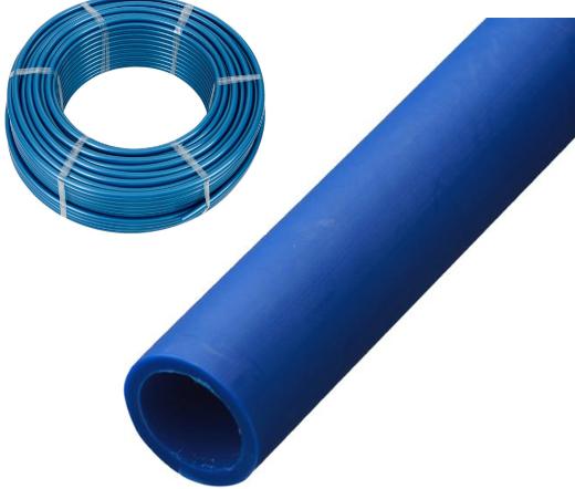 Труба під порізку Синя 20 труба 10 атм. кратно 5 метрів