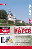 Термотрансфер Lomond для лазерного принтера (для твердых поверхностей), А4, 50 листов
