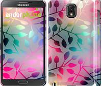 "Чехол на Samsung Galaxy Note 3 N9000 Листья ""2235c-29-15920"""