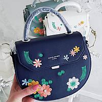 David Jones клатч в синем цвете АРТ. 010149, фото 1
