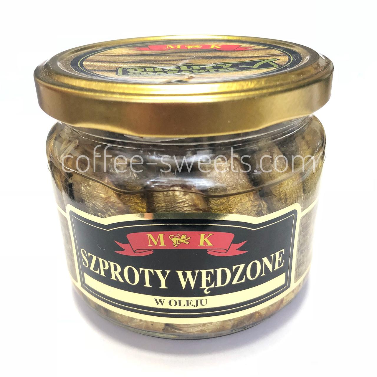 Шпроти в олії MK Szproty Wedzone 250g