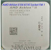 Процессор AMD Athlon II X4 651 K 3.0GHz/ 4MB (AD651KWNZ43GX) Socket FM1