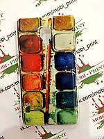 Чехол для LG Optimus L7 P713 (Краски)