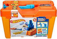 Хот Вилc Строительная коробка для трюков Hot Wheels Track Builder Barrel Box