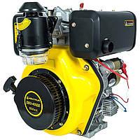 Дизельный двигатель Кентавр ДВУ-420ДЕ (10,0 л.с., шпонка Ø25мм, L=72мм, электростарт), фото 1