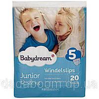 Трусики Babydream 5 (12-22 кг), 20 шт