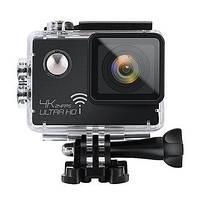 Экшн-камера SJ 8000 WiFi 4K аналог GoPro + 24 крепления и карта памяти Transcend на 32 гб в подарок