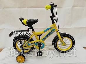"""12"""" Велосипед SPARK KIDS MAC сталь TV1201-001"""