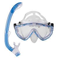 Набор для плавания (маска с трубкой) Dolvor М171P+SN59P
