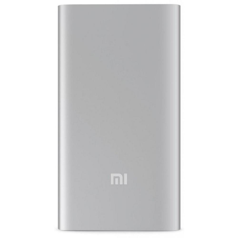 Внешний аккумулятор (Power Bank) Xiaomi Mi Power Bank 2 5000mAh Silver (PLM10ZM)