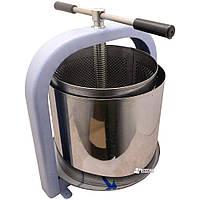 Пресс винтовой для сока яблок, винограда, овощей 25 литров «ЛАН» + мешок для сока