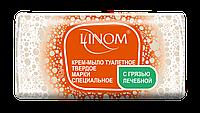 Крем-мыло туалетное твердое марки Специальное С грязью лечебной LINOM