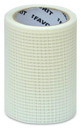 Стрічка серпянка Favorit для швів 50 мм х 153 м (10-234), фото 2