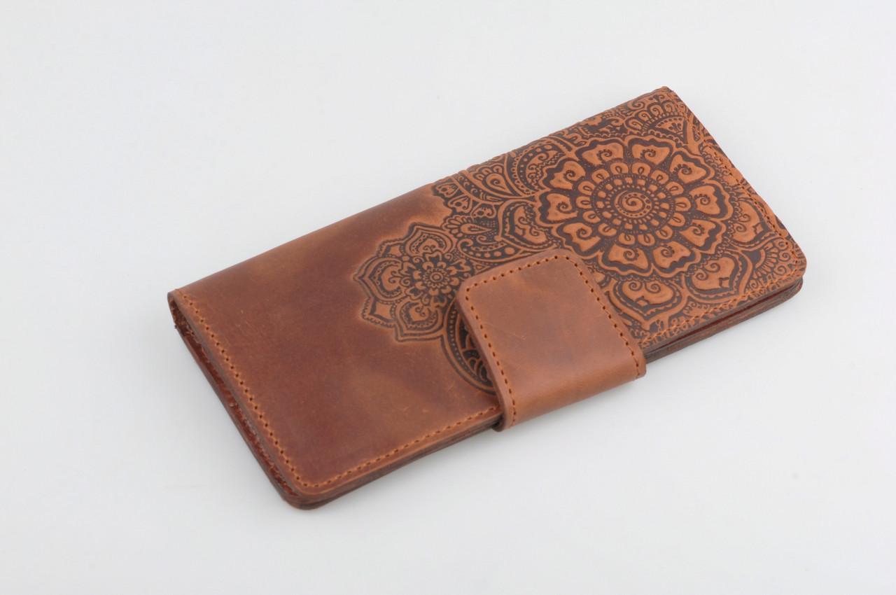31bf3a25b8a2 Кожаный кошелек ручной работы, качественный клатч-кошелек: купить ...
