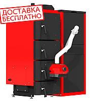 Пеллетный котел Kraft серия F, 75кВт c горелкой Oxi(Украина)