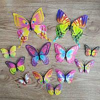 Магнит - бабочки МирАкс МБ-5540 (12 шт)