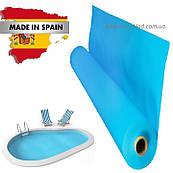 Гидроизоляционная пленка для бассейна лайнер Cefil France 2,05 х 25,2 м Светло-голубой classik Испания