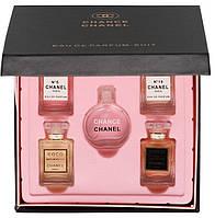 Подарочный набор мини-парфюмов Сhan. 5 x 15ml (черная коробка)