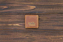 Монетница из кожи ручной работы VOILE cn3-lbrn, фото 2