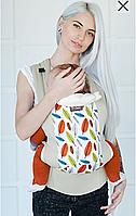 Сумка-кенгуру Эрго Love & Carry Dlight Листья, фото 1