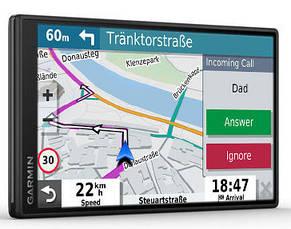 GPS-Навігатор Garmin DriveSmart 55 & Digital Traffic EU MT-D, фото 2