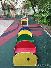 Безопасные резиновые покрытия для детского сада, фото 3