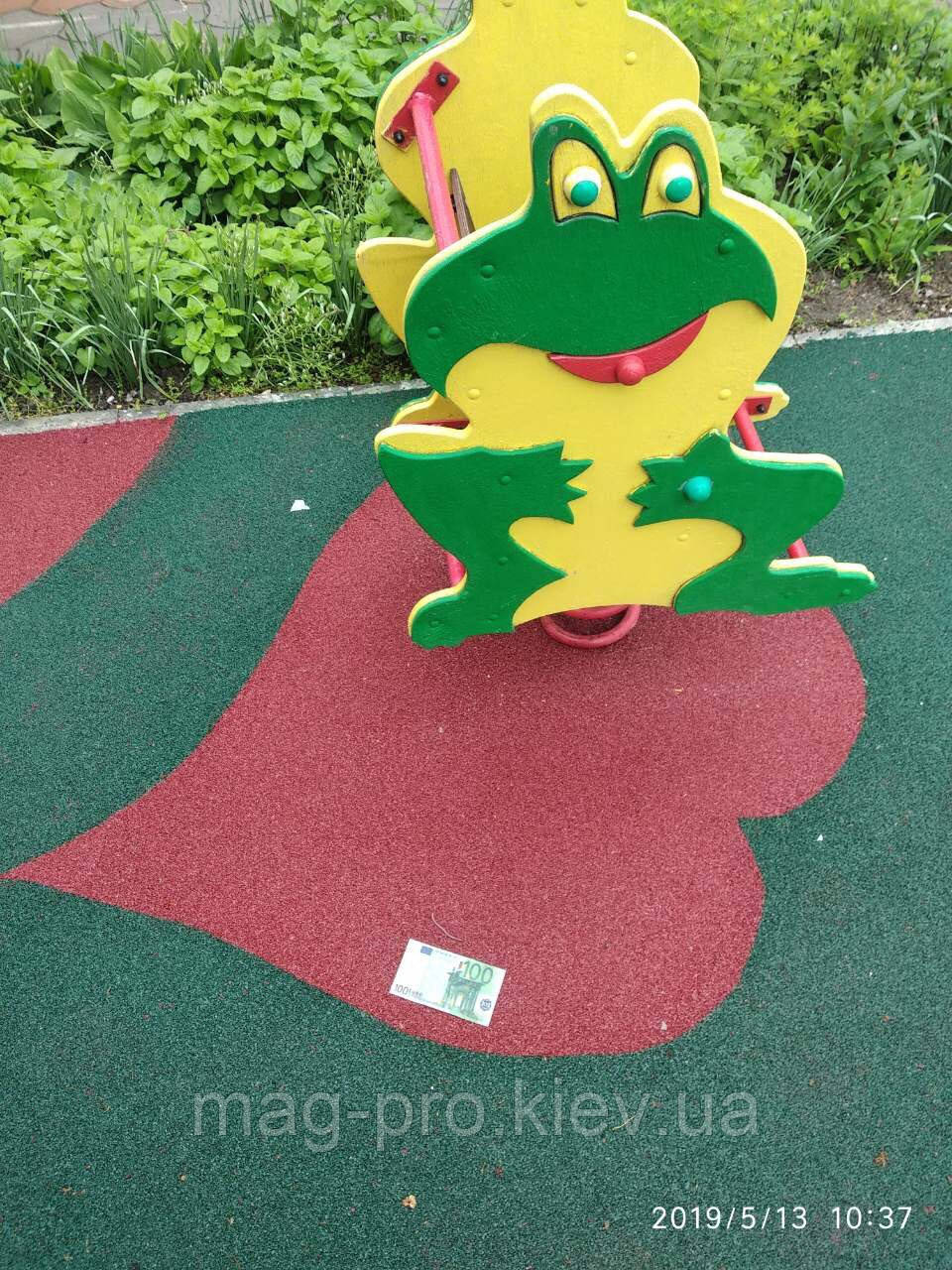 Безопасные резиновые покрытия для детского сада