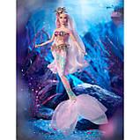 Кукла Барби коллекционная Русалка Волшебница, фото 5