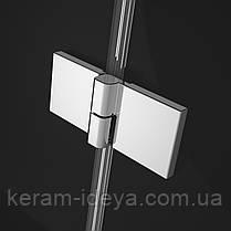 Двери душевые в нишу Radaway Essenza New DWB 80см 385075-01-01L левые, фото 2