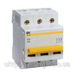Автоматический выключатель ВА47-29М IEK 3P 20 А х-ка B