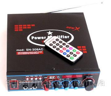 Стерео усилитель UKC SN-308AC c Karaoke, фото 2