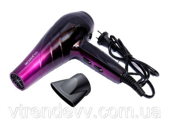 Фен профессиональный мощный Mozer MZ-5917 4000W фиолетовый
