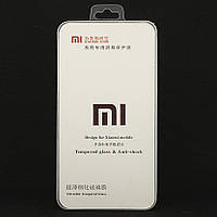 Защитное стекло 5D Full Glue для Xiaomi Mi 8 Lite полноэкранное черное Box