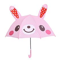 """Детский зонтик 3D ушки  """"Зайчик"""""""