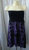 Платье женское нарядное хлопок вышивка кружево бренд Didi р.48, фото 1