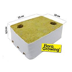 Посадочный кубик из минеральной ваты 15см*10см*6,5см Cultilene