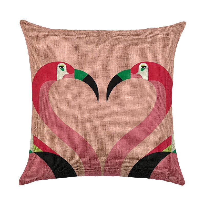 Подушка декоративная Фламинго 45 х 45 см Berni