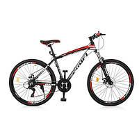 "PROFI Велосипед Profi 26"" EB26FORMAT A26.1 Black-Red (EB26FORMAT)"