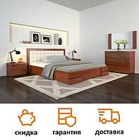 Кровать из натурального дерева Регина Люкс фабрика Арбор Древ