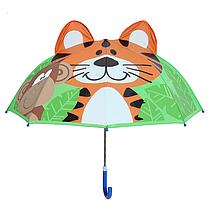 "Детский зонтик 3D ушки  ""Тигр"""