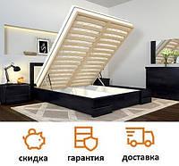 Кровать с мягким изголовьем и подъемный механизмом Регина Люкс фабрика Арбор Древ
