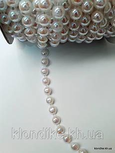 Полубусины на бобине, d - 10 мм, Цвет: AB Хамелеон