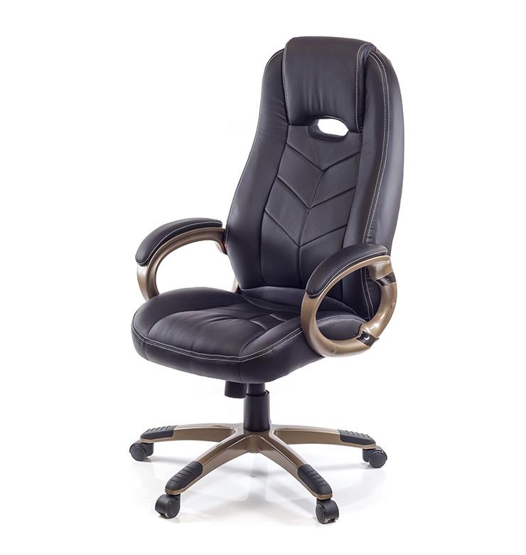 Кресло Брук • АКЛАС • PL TILT чёрный, коричневый