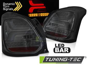 Диодные фонари Led тюнинг оптика Suzuki Swift 6 тонированные