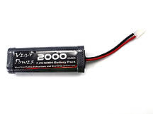 Battery Pack (7.2V, 2000mAH)