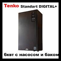 "Электрический котел Tenko серии ""Standart Digital +""  6 кВт - 220 В"