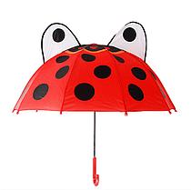 """Детский зонтик 3D ушки  """"Божья коровка"""""""